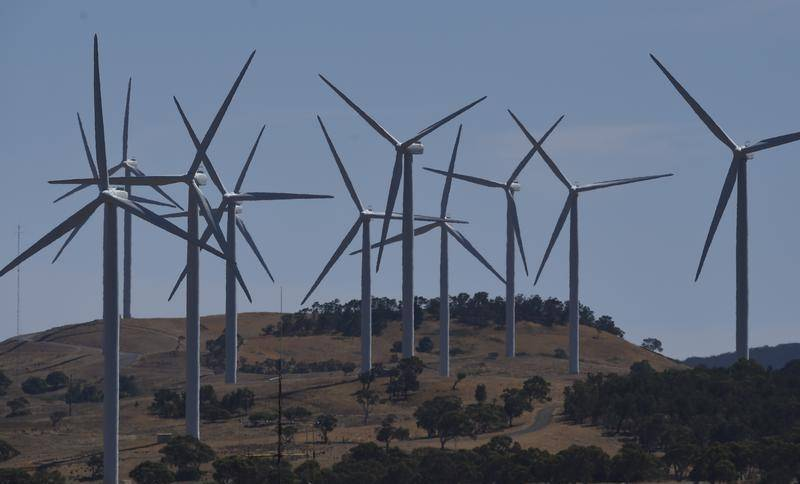 BLOWING IN THE WIND: Central West to become clean energy generation hub.