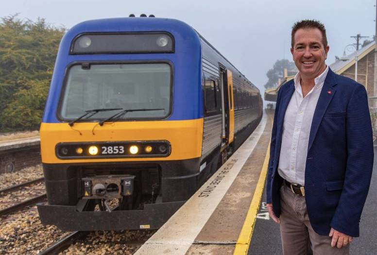 WAITING AT THE STATION: Transport minister Paul Toole says improving the Orange rail service is not an immediate priority. Photo: Supplied
