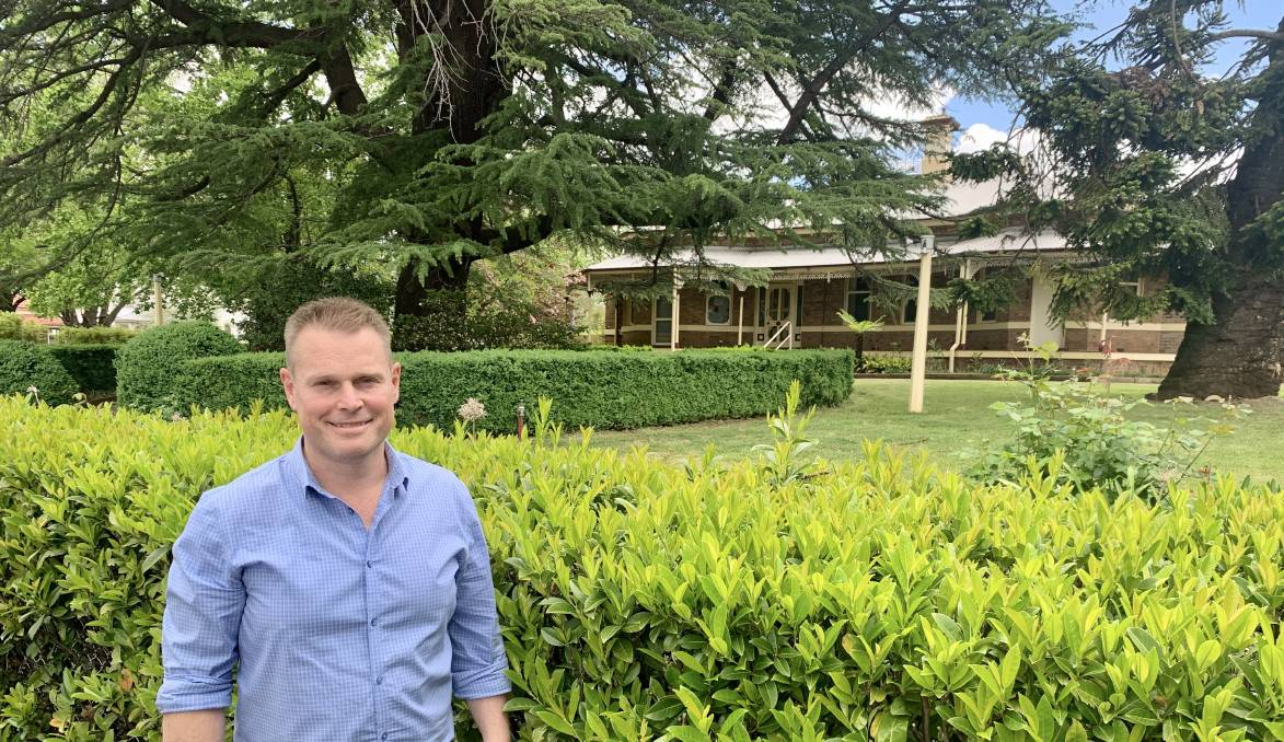 CHANGES: Greg Hedley will be the project manager to convert the former Newstead Bowling Club into Gowrie NSW Orange's early learning centre. Photo: TRACEY PRISK