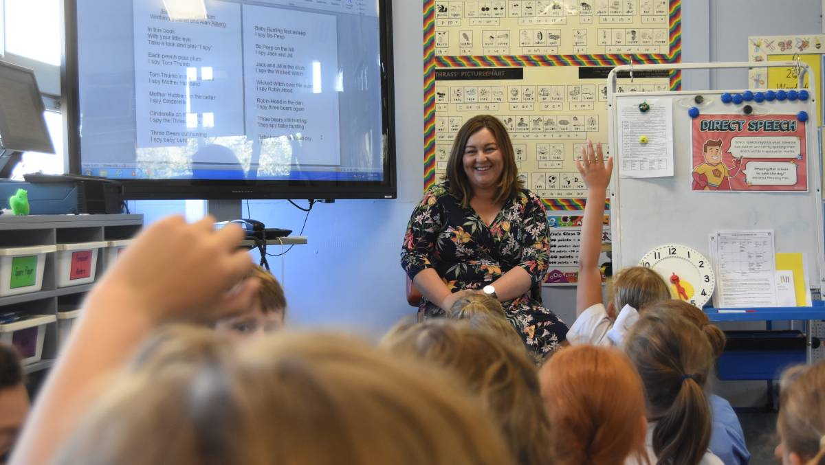 TOP SCHOOL: Emphasis on literacy and numeracy is the key to becoming an Ambassador School says Millthorpe Public School principal Penny Granger. Photo: Mark Logan.