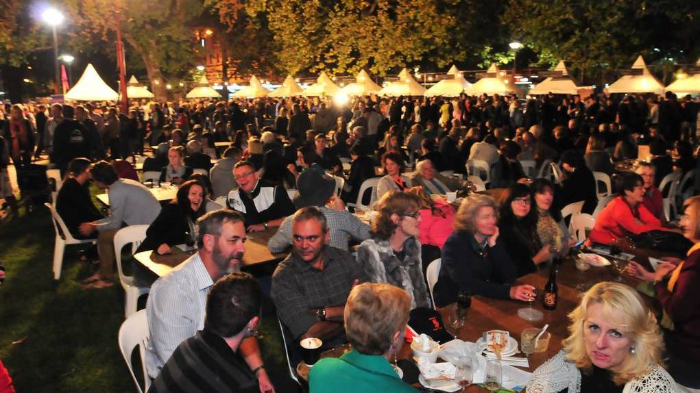 BUSY: Orange is widely regarded as a food and wine hub in NSW, with events like FOOD Week, but never has it been this busy, writes David Collins.
