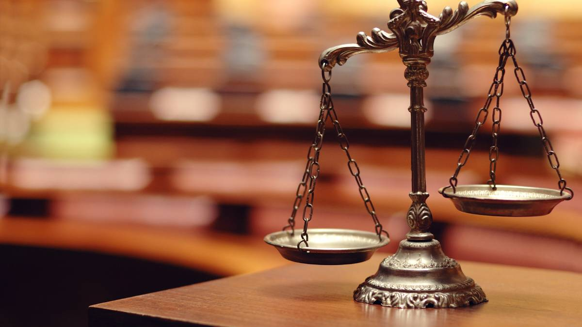 IN COURT: Magistrate David Day weighed his sentencing options before issuing a conviction for intimidation. Photo: SHUTTERSTOCK