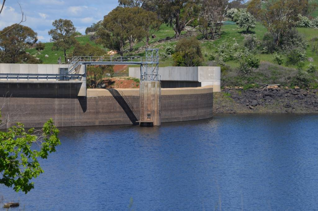 WATER WORLD: Suma Park Dam when it was at 62 percent capacity. It is now at 56 percent. Photo: SUPPLIED.