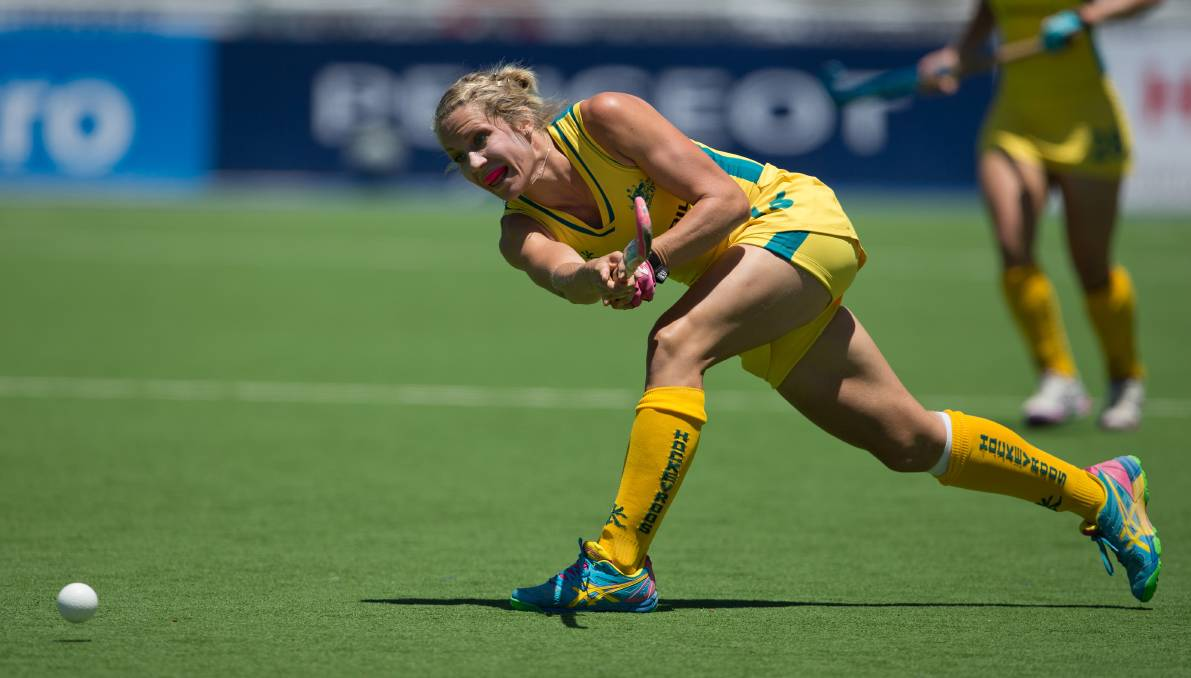 BACK AGAIN: Edwina Bone has her sights on the 2021 Olympic Games after her selection in next year's Hockeyroos squad. Picture: Hockey Australia.