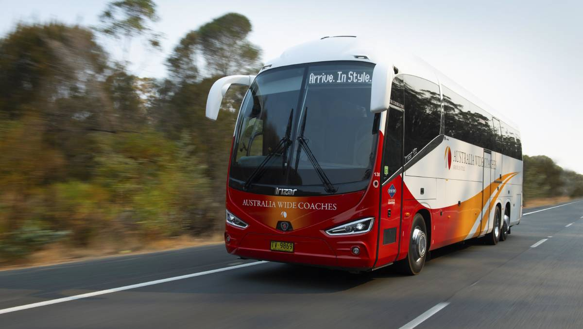 Australia Wide Coaches will resume operating three days a week between Orange and Sydney from March 8. PHOTO: AWC