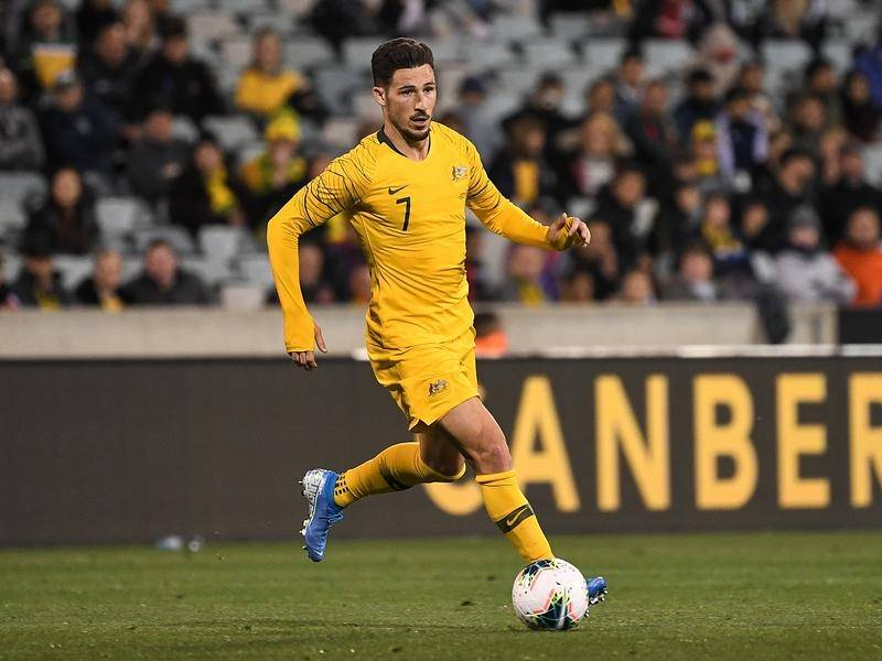 Mathew Leckie is in self-isolation after positive COVID-19 tests at his German club Hertha Berlin.