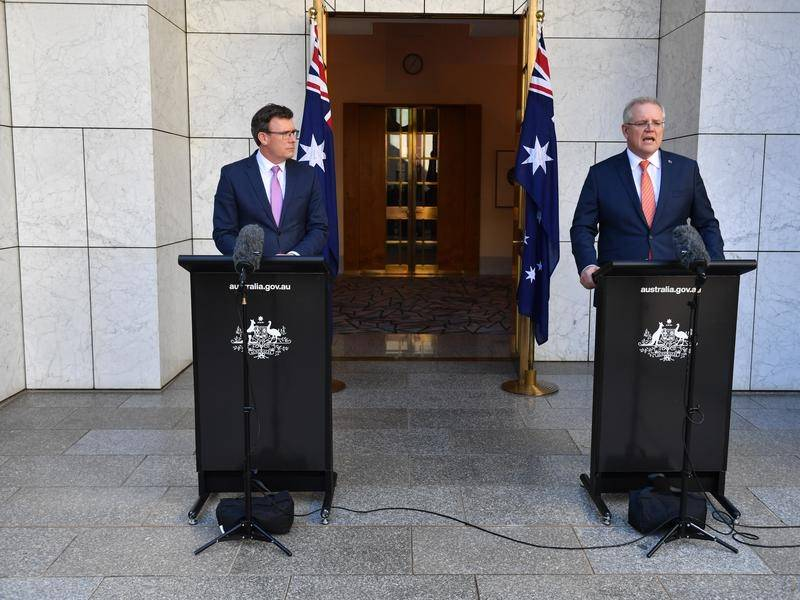 Acting Immigration Minister Alan Tudge and Prime Minister Scott Morrison announced the visa changes.