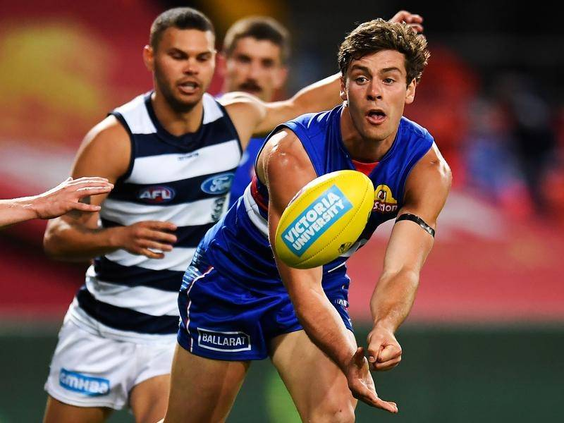 Josh Dunkley will fight for more game time at the Bulldogs after recently requesting a trade.